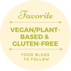 Logo for the list of vegan and gluten-free blogs to follow